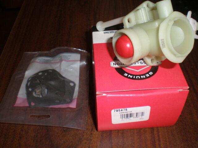 Oem Briggs & Stratton Engine Lawnmower Pulsa Primer Carburetor Carb 795475 NEW