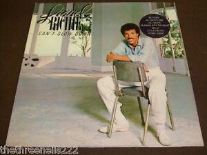 VINYL LP - LIONEL RICHIE - CAN'T SLOW DOWN - ZL 72020