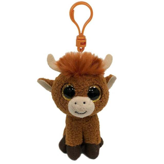 f9ca3889395 Ty Beanie Babies Boos 35214 Angus The Scottish Highland Cow Boo Key ...