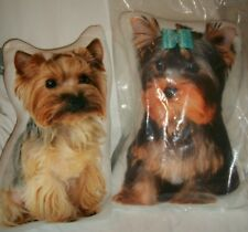 YORKIE YORKSHIRE TERRIER PUPPY PILLOW NEW CHOOSE GIRL OR BOY