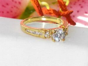 RG130-1-75ct-WOMENS-ELEGANT-SOLITAIRE-SIMULATED-DIAMOND-RING-HEAVY-ROLLED-GOLD