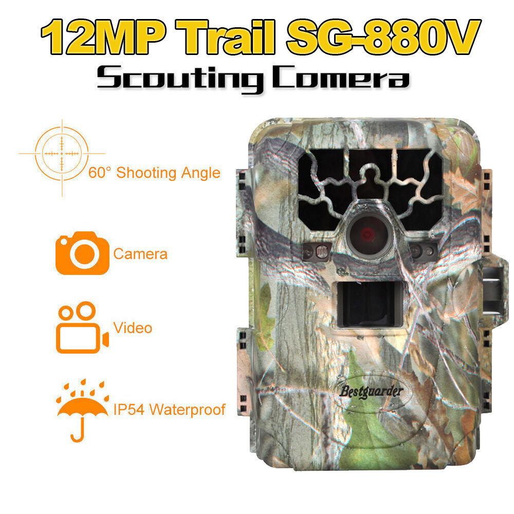 SG-880V  No Glow 12MP Mini Infrared IR Digital Trail Game Hunting Camera DVR 8GB  zero profit