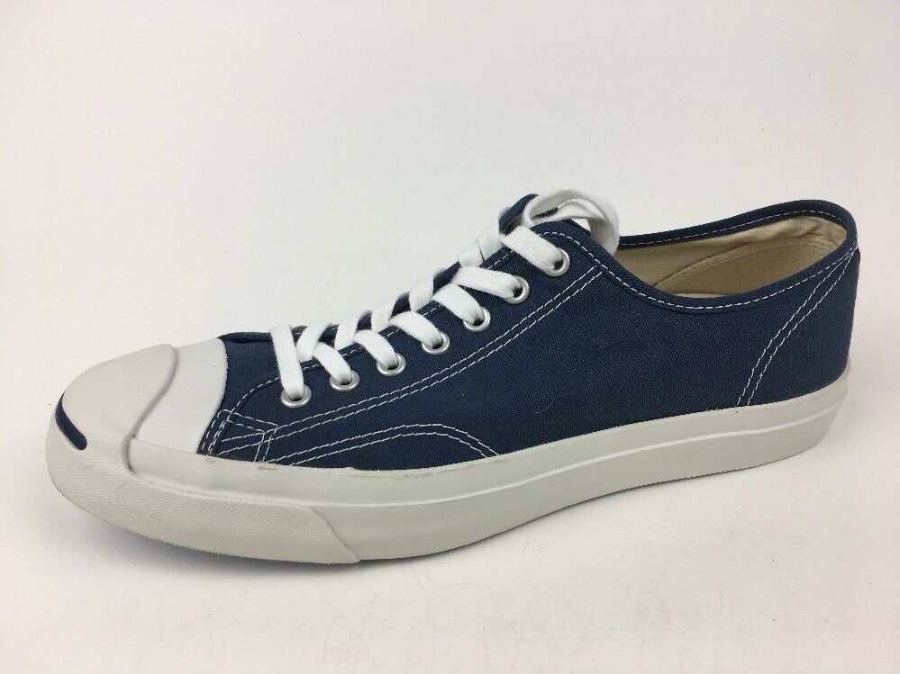 Converse Jack Purcell CP OX  1Q811 Navy White Unisex Sz Mens 10 Womens 11.5