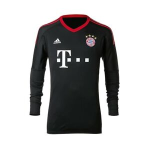 ce08a48b896 NEW - Adidas FC Bayern Munich Goalkeeper's Jersey Home Kids 17/18 ...