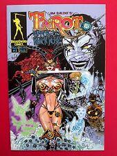 TAROT WITCH OF THE BLACK ROSE #1 (VFNM) JIM BALENT HOLLY HTF 1st print! 2000