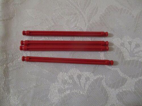 Micro k /'nex Rod 63 mm Rouge-knex-Pack de différentes tailles partie 509532