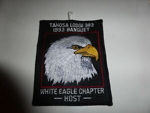 TAHOSA-Lodge-383-1993-Banquet-White-Eagle-Chapter-Patch-OA-Orger-Arrow