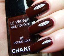 CHANEL Nail Polish - No.18 Rouge Noir for sale online | eBay