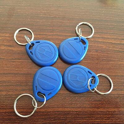 125Khz Writable Keychain ID EM4305 Rewrite RFID Access Tokens -10pcs