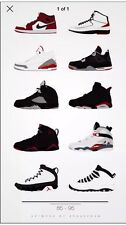 "Air JORDAN POSTER ART BIG 24"" x 42"" Muro Trainer Nike Nuovo"