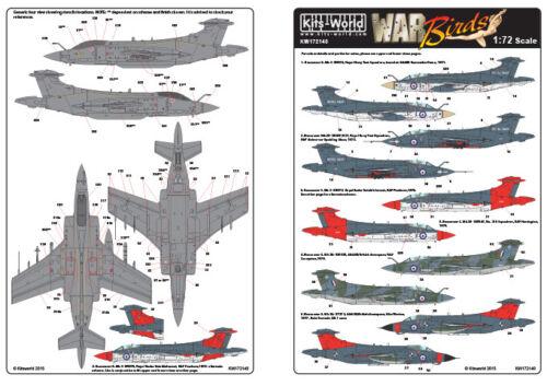 Kits-World 1//72 Blackburn Buccaneer #72140