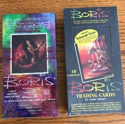 Boris Series 3 Prism Trading Card Box