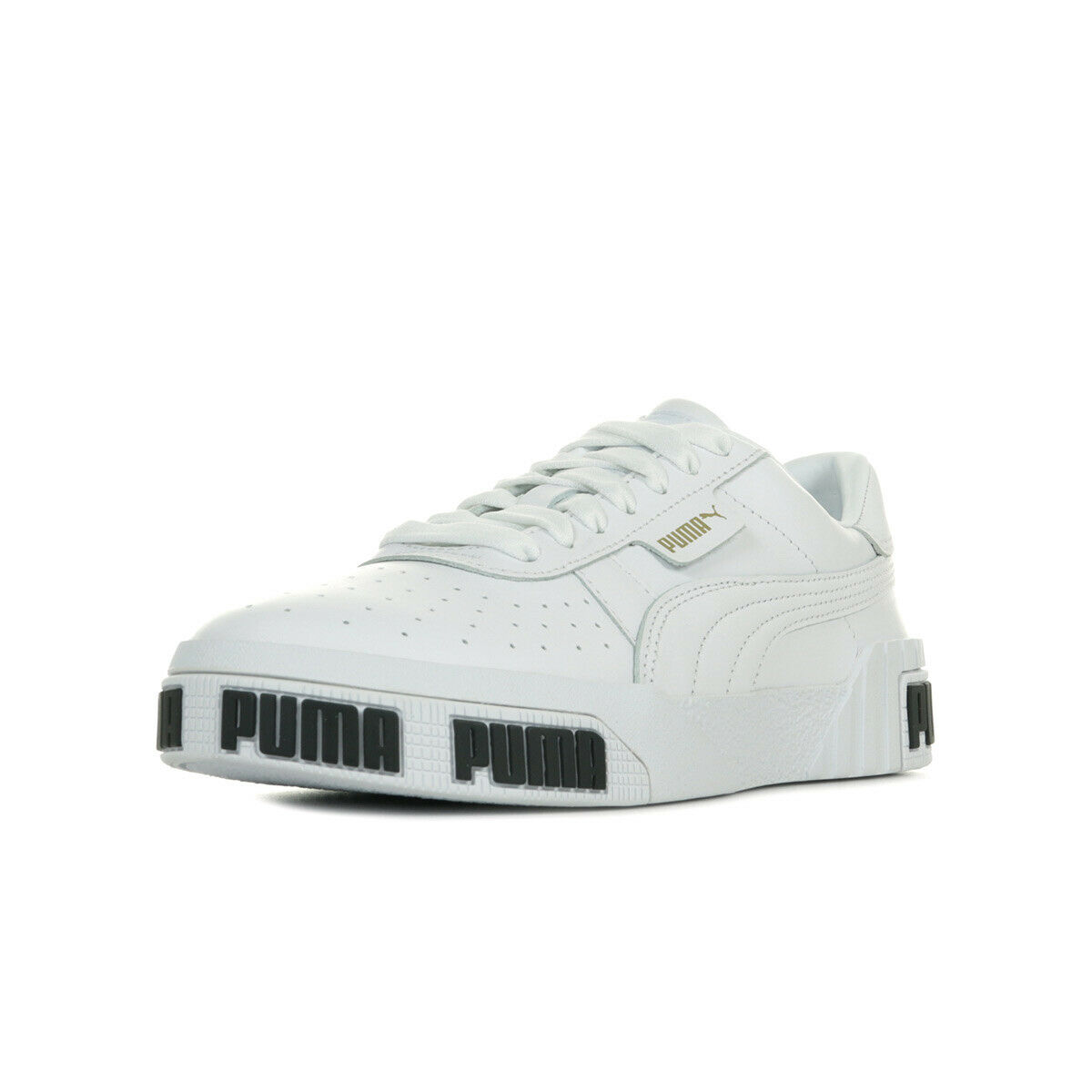 Puma shoes sneakers woman cali bold wn's white size white leather laces