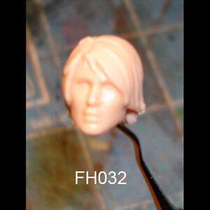 "FH011 Custom Cast Sculpt part Female head cast for use with 3.75/"" action figures"