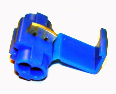 Blue 5-Pack Genuine 3M Scotchlok 560B Tap Connectors 18-14 AWG