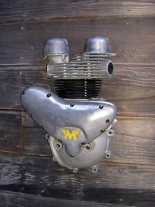1950-039-s-AJS-Matchless-G9-G12-half-engine-wall-decoration