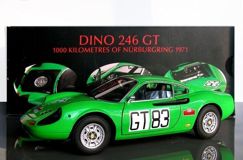 Ferrari  246 gt  83 1000 km nurburgbague 1971 hotwtalons elite t6260 1 18 mattel  promotions discount