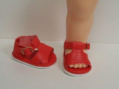 "CREAM Diamond-Cut Doll Shoes For Knickerbocher/'s 16/"" Terri Lee Debs"