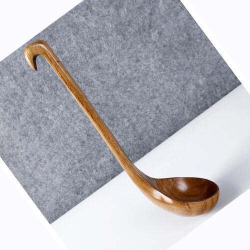 Suppentassenlöffel Esslöffel Holz Kaffeelöffel Tisch Abendessen Löffel
