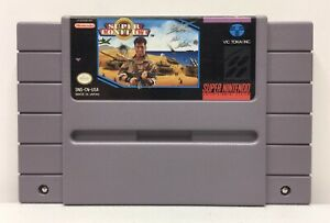 SNES-Super-Conflict-Video-Game-Cartridge-Authentic-Cleaned-Tested