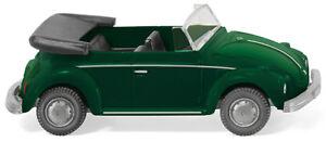 WIKING-080208-VW-Beetle-Convertible-Yuccagrun-Met-Car-Model-1-87-H0