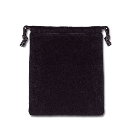 """Single Drawstring Pouch Velveteen Mojo Bag 3/"""" x 4/"""" Choose from Eight Colors!"""