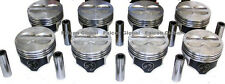 """Speed Pro Chevy 400 Hypereutectic Coated Flat Top Pistons Set/8 for 5.7"""" rod +30"""