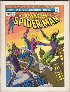 Marvel Comics Index #1    ( Spider-Man )  FN 759606075935