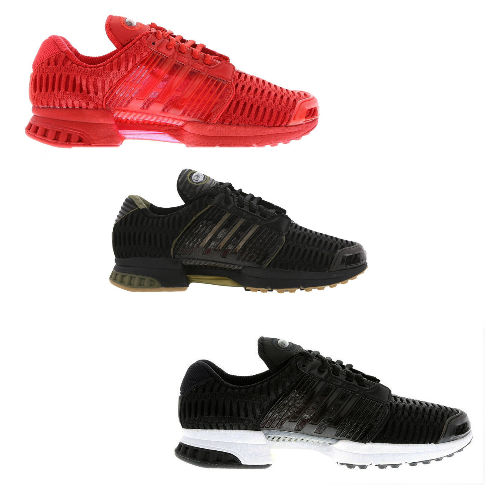 ORIGINAL ADIDAS CLIMACOOL CLIMA COOL 1 BLACK RED WHITE TRAINERS