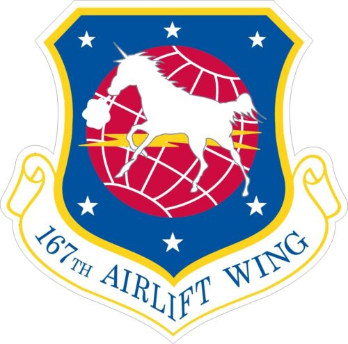 Sticker Air National Guard167th Airlift Wing Decal