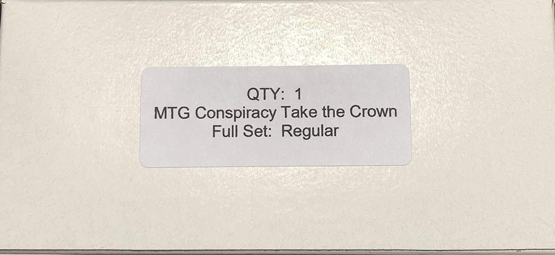 MTG conspiración 2 tomar la corona-Juego Completo casi como nuevo-menta-Todas Las Tarjetas