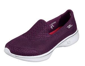 Skechers NEW Go Walk 4 Propel purple raspberry purple Propel Damens's comfort schuhe ... 815f06