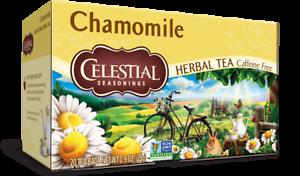 Celestial Seasonings Chamomile Herbal Tea, 1 Box of 20 tea bags