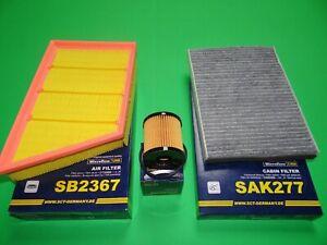Ölfilter Luftfilter Pollenfilter Range Rover Evoque (L538) 2.2 Diesel