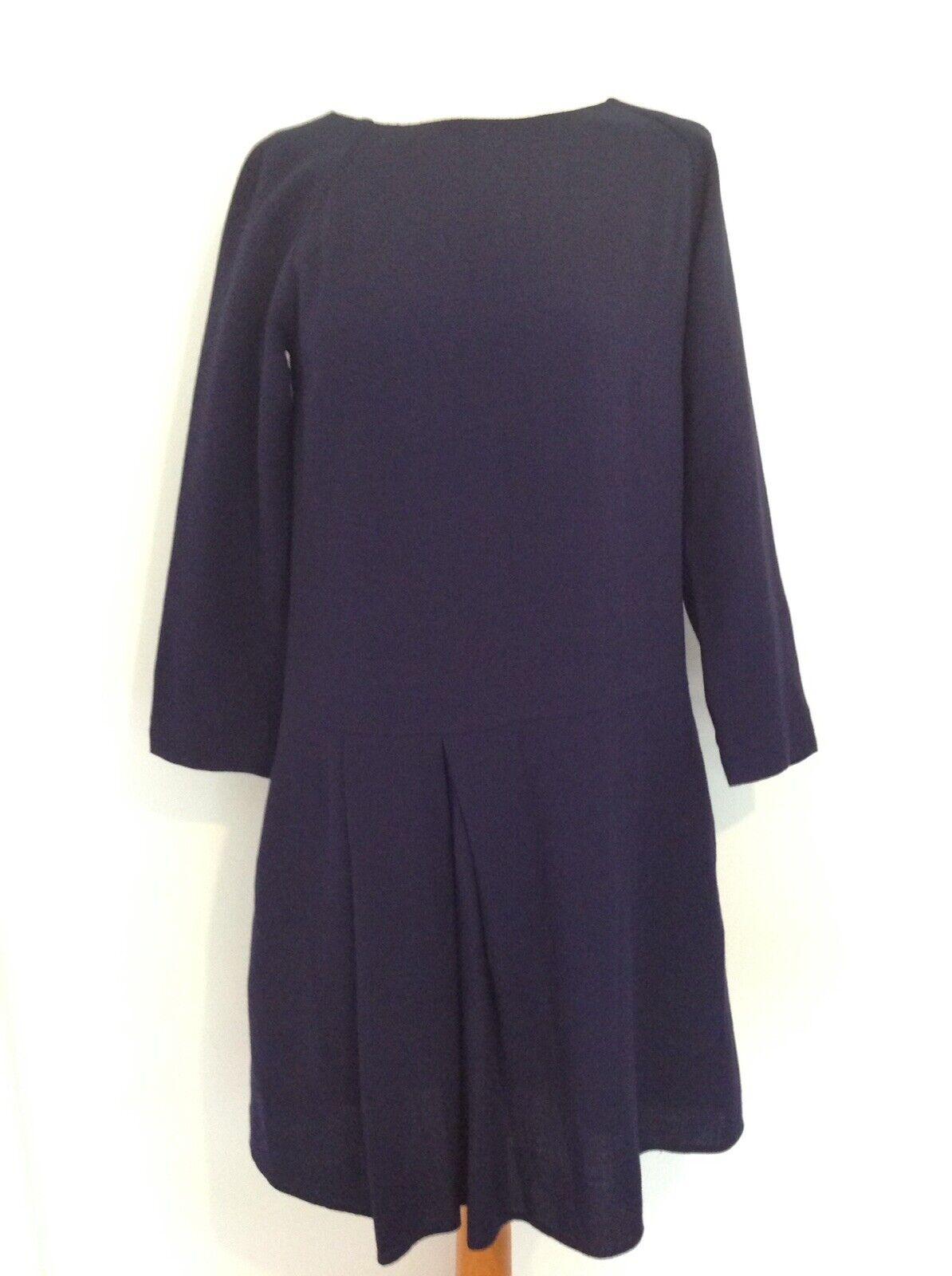 TOAST damen LADIES WOOL BLEND DRESS Größe 10