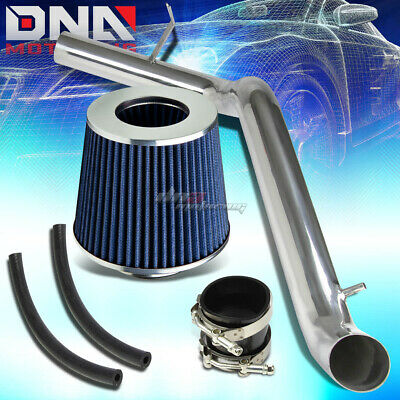 """FOR 07-09 TOYOTA CAMRY 2.4 COLD AIR INDUCTION INTAKE+3/""""BLUE TAPER CONE FILTER"""