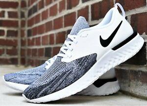 Buy Nike Odyssey React 2 Flyknit Blue Running Shoes for Men