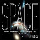 Space Views From The Hubble Telescope 2017 Mini Wall Calendar 9780764973123