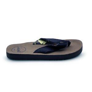 c46f498fa356 Image is loading Animal-Cruz-Premium-Mens-Olive-Flip-Flops-Sandals-