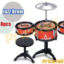 Kids Junior Jazz Drum Kit Music Set Children Big Band Musical Play