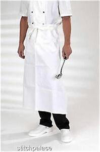 Dennys-Cotton-Square-Apron-Chefs-Uniform-White-One-Size