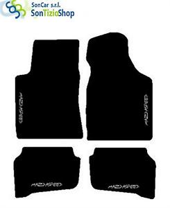 TAPPETI MAZDA MX3 SU MISURA 4 Fix Universali! MAZDASPEED bianco DECORO