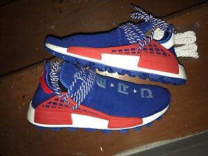 the latest c4245 bd957 Details about Adidas NMD Hu Pharrell BBC x Nerd Blue Complex Con 2018  Exclusive VERY RARE