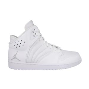 Nike Air Jordan 1 Flight 4 All White Basketball Sneaker Schuhe weiß 820135 100