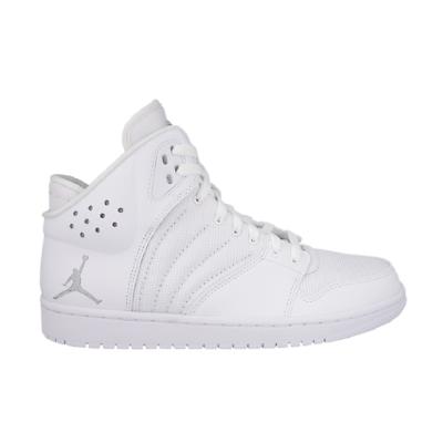 Miele Nike Air Jordan 1 Flight 4 All White Scarpe Da Pallacanestro Basket 820135 100
