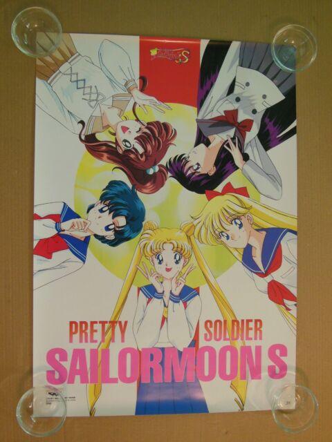 Sailor Moon S Japanese Banpresto Poster #18 (1994) RARE - Black Friday Sale!!!