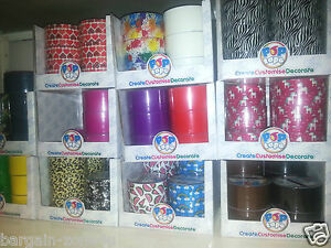 24 x Wholesale Pop Tape Craft Art Paper Decorative 48mm x 10m Sellotape Carboot