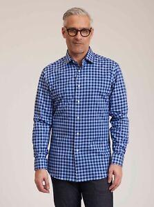 Robert-Graham-Talbot-L-S-Checkered-Print-Sport-Shirt-Navy