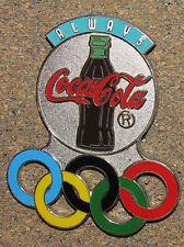 "C3 PIN COCA COLA 1996 GAMES SPONSOR HIGH QUALITY 2.5"" ALWAYS COCA COLA"