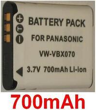 Batterie 700mAh type VW-VBX070 VW-VBX070GK VW-VBX070-W Pour SONY HM-TA2